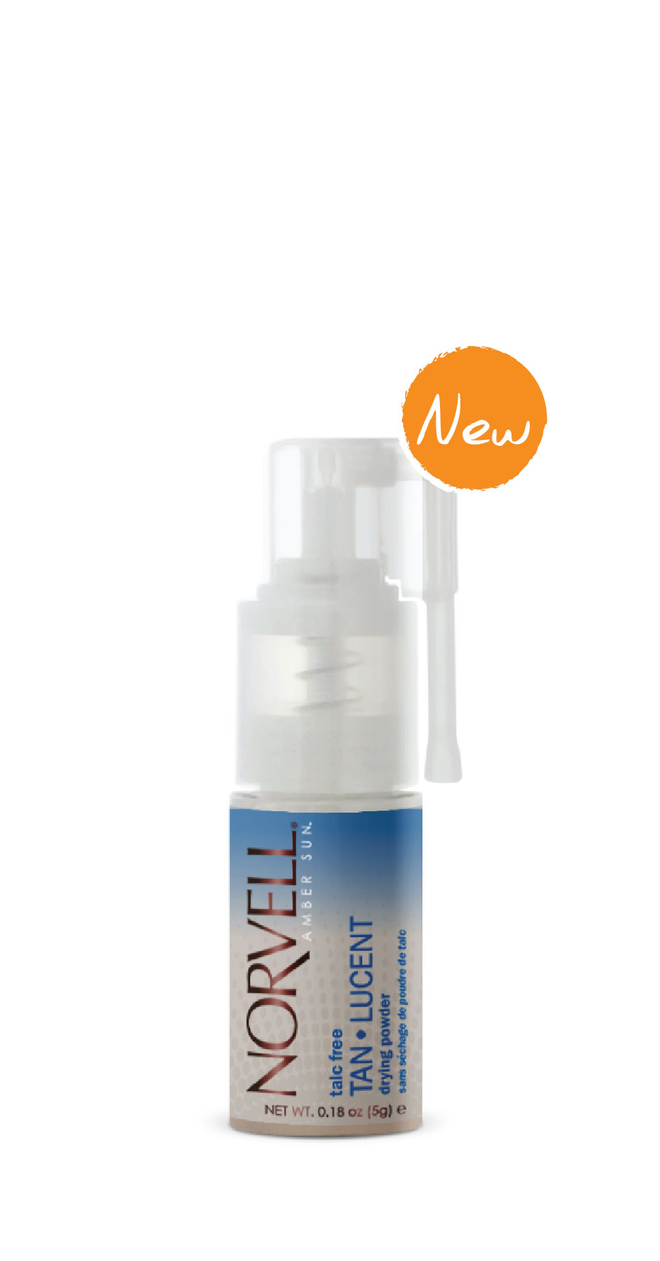 POST SUNLESS TAN LUCENT TALC FREE DRYING POWER