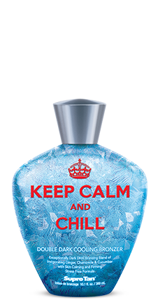 KEEP CALM & CHILL DOUBLE DARK COOLING BRONZER